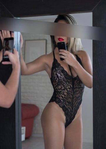 Blonde Birmingham escort